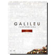 Box com DVD+CD Galileu Deluxe Fernandinho original - Onimusic