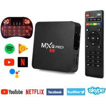 Box Conversor Smart Android 10.1 Ultra HD 4K com Teclado de Led - Hevc