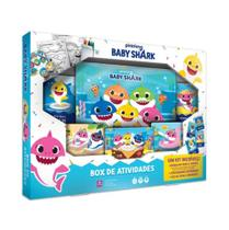 Box de Atividades Baby Shark Copag -