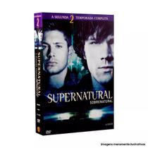 Box Dvd Coleção Supernatural: 2ª Temporada (6 Dvds) - Novo - Warner bros