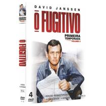 Box DVD O Fugitivo Primeira Temporada Volume 2 - World classics