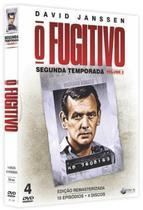 Box DVD O Fugitivo Segunda Temporada Volume 2 - World Classics