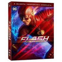 Box Dvd - The Flash 4ª Temporada Completa (5 Discos) - Warner