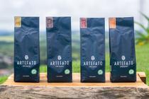 Box especial Artefato - 4 Cafés em Grãos (Catiguá, Topázio, Catuaí Amarelo e Moka) - Artefato Cafés Especiais