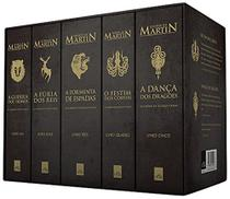Box guerra dos tronos 5 volumes - Leya