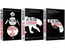 Box Livro Jo Nesbo - O Boneco de Neve O Leopardo e O Fantasma