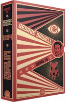 Box Obras De George Orwell 1984 A Revolução dos Bichos - Pandorga -