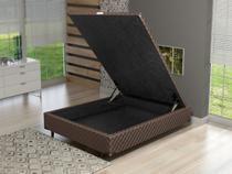 Box para Colchão Casal LightSpuma com Baú - 138x188cm Imperador