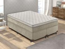 Box para Colchão Queen Size LightSpuma  - 43cm de Altura Premium