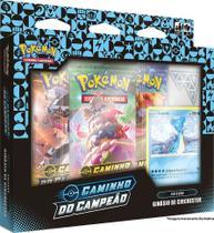 Box Pokémon Caminho Do Campeão Com Emblema Bordado ( Lote 2) - Copag