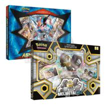 Box Pokemon Melmetal Gx + Box Ash Greninja Ex - Copag - Pokemon tcg