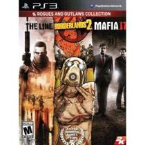 Box Ps3 Rogues And Outlaws Collection: Spec Ops Borderlands 2 Mafia 2 - 2K