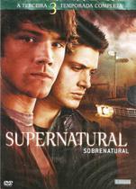 BOX Supernatural Sobrenatural Terceira Temporada Completa - Amz