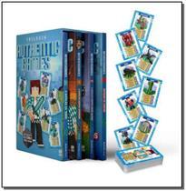 Box Trilogia Authentic Games - 3 Vols + Jogo Batalha de Cartas - Alto astral editora