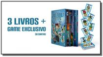 Box Trilogia Authenticgames + Game Exclusivo - Astral cultural
