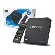 Box tv smartpro tv android netflix youtube 4k 2gb prosb-2000 - Eletronica Castro