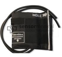 Braçadeira Adulto Nylon Esfigmomanômetro Aparelho de Pressão - Premium