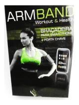 Braçadeira Mbfit Smartphone E Porta Chave Arm Band Universal - Mb Fit