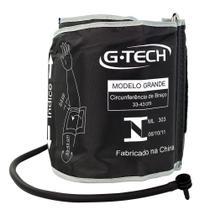 Braçadeira Para Aparelho De Pressão Digital De Braço G-Tech Adulto Grande 22 x 43 Cm - Gtech