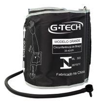Braçadeira Para Aparelho De Pressão Digital De Braço G-Tech - Adulto Grande 33 x 43 Cm - Gtech