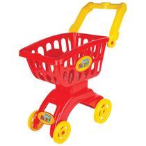 Braskit carrinho market vermelho 8706 -