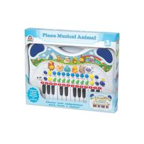 Braskit piano musical animal azul 6407 -