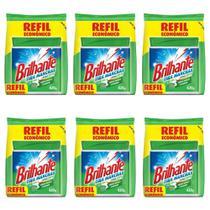 Brilhante Antibacteriano Tira Manchas Refil 420g (Kit C/06) -