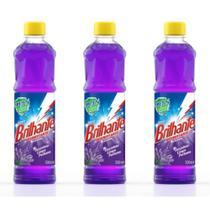 Brilhante Lavanda Desinfetante 500ml (Kit C/03) -