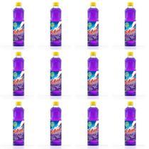 Brilhante Lavanda Desinfetante 500ml (Kit C/12) -
