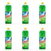 Brilhante Limão Desinfetante 1 L (Kit C/06) -