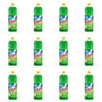 Brilhante Limão Desinfetante 1 L (Kit C/12) -