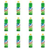 Brilhante Limão Desinfetante 500ml (Kit C/12) -
