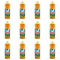 Brilhante Pinho Desinfetante 1 L (Kit C/12) -
