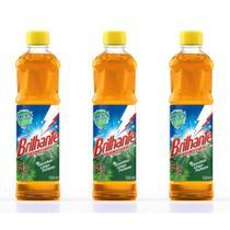 Brilhante Pinho Desinfetante 500ml (Kit C/03) -