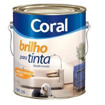 Brilho para Tinta 3.6 litros - Coral -