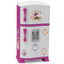 Brincadeira de Casinha - Refrigerador Pop - Disney - Princesas - 51 Cm - Xalingo -