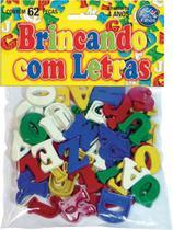 Brincando com Letras 62 Pecas - Pais e filhos