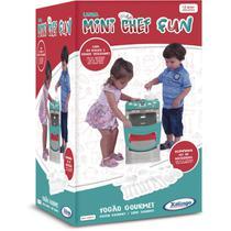 Brincando de Casinha Fogao Gourmet Mini CHEF FUN - Planeta Criança