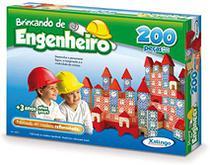 Brincando de engenheiro 200 pecas - Xalingo