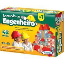 Brincando de Engenheiro no 1 Xalingo Brinquedos -