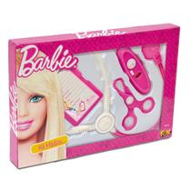 Brincando De Profissoes Barbie Kit Medica Basico Fun