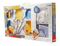Brincando De Ser Kit Chefe De Cozinha Br957 Multilaser - Mga