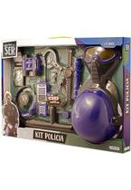 Brincando de Ser Kit Polícia Com Acessórios Multikids - BR965 (233446) -