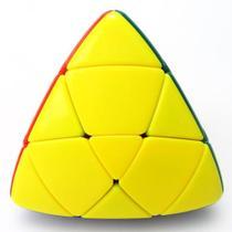Brinquedo Antistress Cubo Mágico Pirâmide Colorido Velocidade - Toy King - Profissional