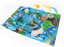 Brinquedo Aqua Pesca Dican 5024 Azul com Água sem Pilha -