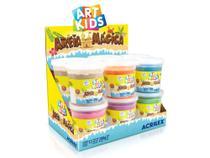 Brinquedo Areia Mágica 200g Cores Sortidas, Caixa C/ 12 Unidades, Acrilex -