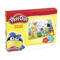Brinquedo Arte Com Carimbos Play-Doh 3937 Dtc -