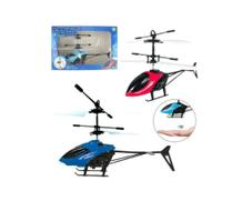 Brinquedo Avião Helicóptero Drone Recarregável Usb Com Sensor De Mão -