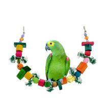Brinquedo Balanço Rede  para Papagaio - Wi Master Dog