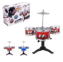 Brinquedo Bateria Musical Infantil Meu Ritmo - Kopeck